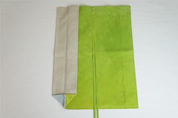 革職人LCWのコンパクトバッグ,ブラウン×グリーン,バリエーション