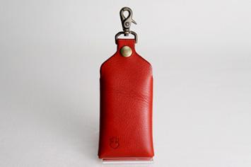 革職人Sachiの手作りスマートフォンケース,カラーバリエーション,レッド,赤